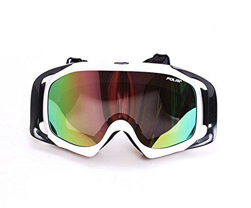 Professional Ski Goggle For Adults White Snowboarding Goggle