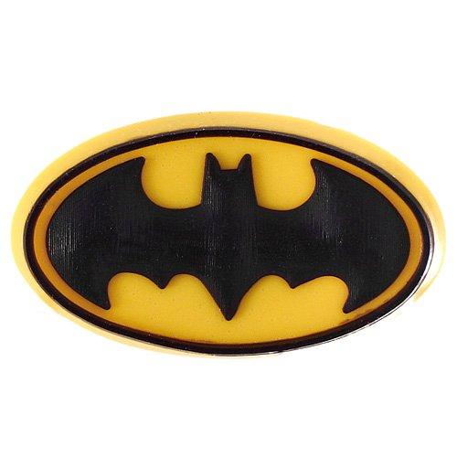 DIY Jewelry Making: Dark Knight Batman Sign Croc Charm Jibbitz Style