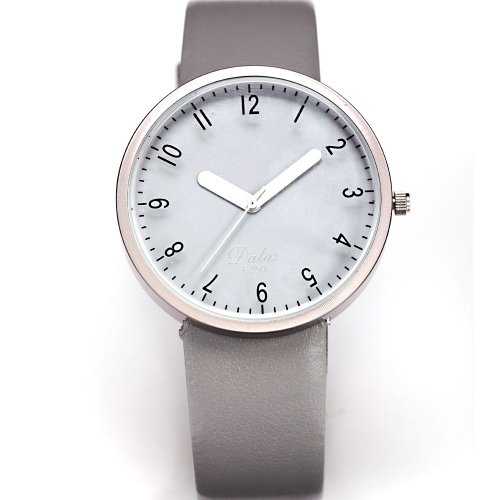 AMPM24 Fashion Women Lady Gray Dial Leather Sport Quartz Wrist Watch Gift