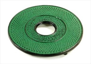 Why Should You Buy Hobnail Cast Iron Teapot Trivet Green #TB20-AG