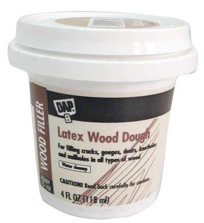 537 Plastic Wood . Dap 1/4 Pint Latex Plastic Wood (Rtu) Walnut front-474148