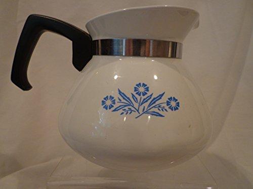 Corning Ware Blue Cornflower Teapot, 6 cup ***NO LID, Corningware Beverage Server