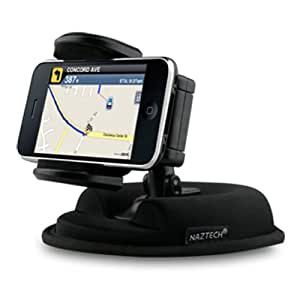 Friction Car Dashboard Dash Mount and Suction Mount in one with Weighted Mount For Apple iPhone 5