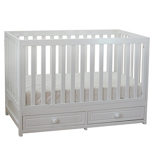 Athena AFG Marilyn 3-in-1 Convertible Crib White