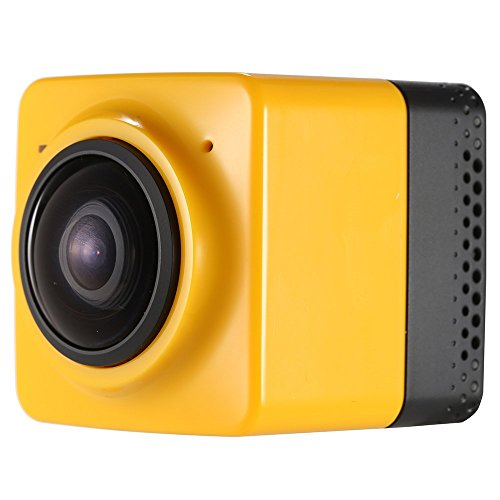Andoer® Mini Cube Action Sports Panorama Camera 360 Degree Wifi 1280 * 720 24FPS Fisheye Wide View Wide Angle Outdoor Video Camcorder