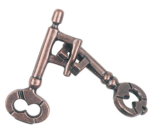 KEY Hanayama Cast Metal Brain Teaser Puzzle (Level 1)