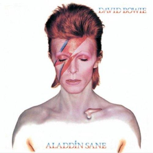 Original album cover of Aladdin Sane by David Bowie