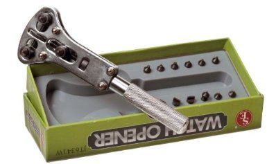 Se Jt14690 Adjustable Screw On Pin Watch Case Opener