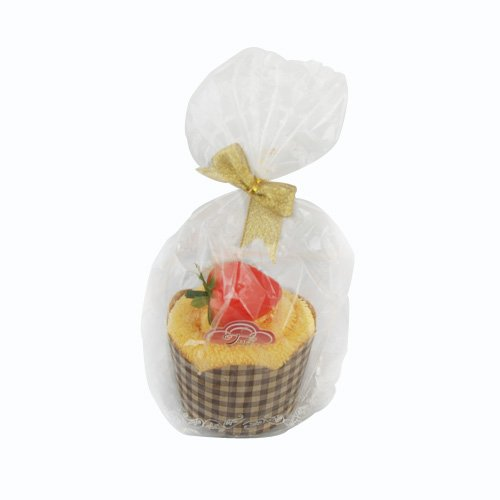 Cupcake Shaped Towel Cakes, Random Color front-200969