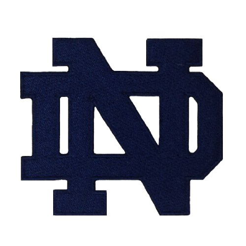 Notre Dame Fighting Irish Logo Embroidered Iron Patches (Notre Dame Iron On Patch compare prices)