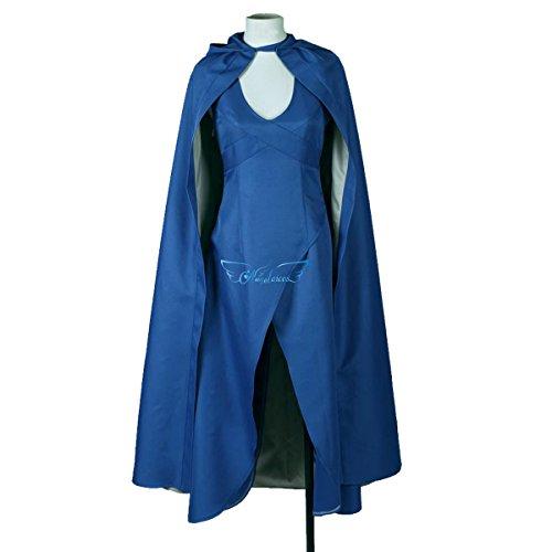 Angelaicos Womens Top Design Cosplay Show Costume Dress Cloak