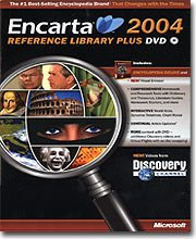 Encarta Reference Library 2004 DVD [Old Version]