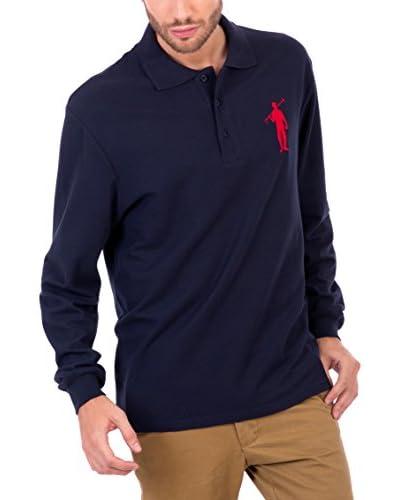 POLO CLUB Poloshirt Original Big Player Cro Ml marine