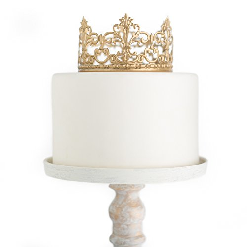 Gold Crown Cake Topper, Vintage Crown, Small Gold Wedding ...