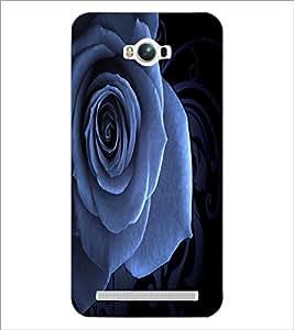 PrintDhaba Rose D-2014 Back Case Cover for ASUS ZENFONE MAX ZC550KL (Multi-Coloured)