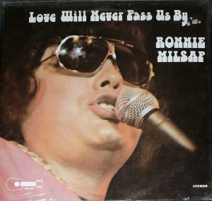 RONNIE MILSAP - love will never pass us by BUCKBOARD 1022 (lp vinyl record)