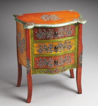 Hand Painted Dresser front-845665