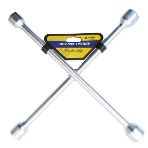 17-19-21-23mm-cross-wheel-wrench-four-way-brace-nut-car-lug-heavy-duty-new
