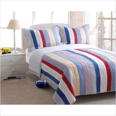 Bundle-82 Prairie Stripe Quilt Set - Full/Queen front-904900