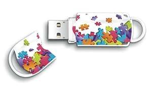 Integral Europe Xpression Clé USB 16 Go Puzzle
