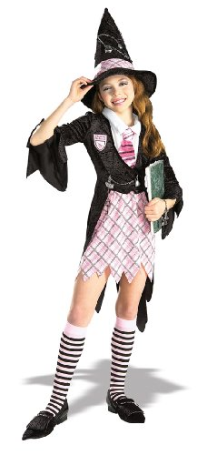 Masquerade Concepts Child's Charm School Witch Costume, Medium