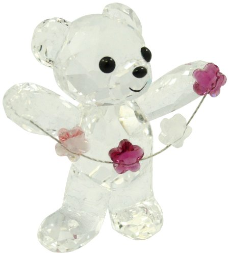 Swarovski   Kris Bear Flowers For You (Swarovski Crystal Flower compare prices)