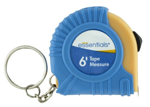 Great Neck 21008 Essentials Keychain 6-Foot Tape Measure