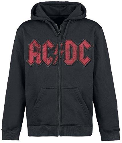 AC/DC Hells Bell Felpa jogging nero L