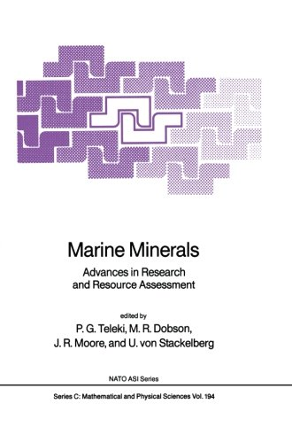 Marine Minerals: Advances In Research And Resource Assessment (Nato Science Series C:)