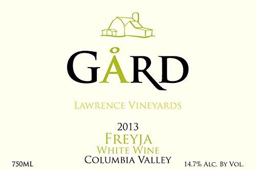 """2013 Gard Vintners """"Freyja"""" Viognier & Roussanne White Blend 750 Ml"""