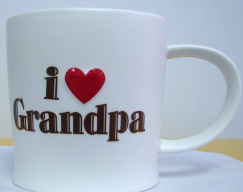 Hallmark Mugs Vtd5050 I Heart Grandpa Coffee Mug