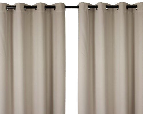 Luxura 'Matte Finished' Window Panel Set In Platinum Silver (Set Of 2) front-814023