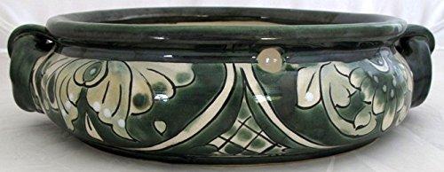 Talavera Succulent Bowl (GW) (green)