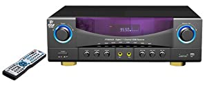 Pyle Home PT980AUH 7.1-Channel 350 Watts AM/FM Radio with USB/SD Card and HDMI Amplifier Receiver from Pyle Home
