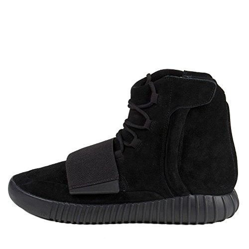 adidas-Mens-Yeezy-Boost-750-Triple-Negro-Blackcblack-Ante-Tamao-8