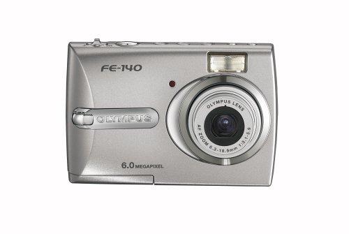 Olympus Fe-140 6Mp Digital Camera With 3X Optical Zoom