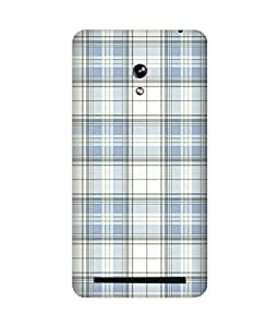 Plaid Print Back Cover Case for Asus Zenfone 6