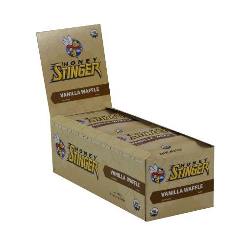 Honey Stinger Organic Stinger Waffles - 16 Pack - Strawberry front-990647
