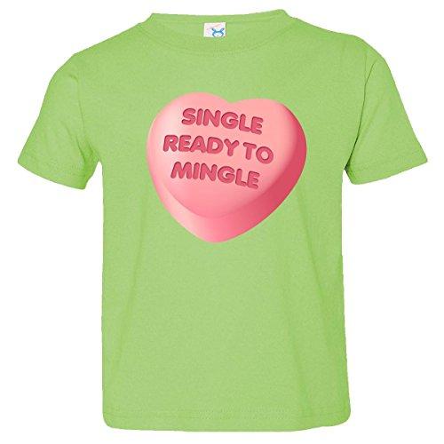 Inktastic Little Boys' Single Ready To Mingle Toddler T-Shirt 3T Key Lime