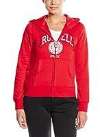 Russell Athletic Sudadera con Cierre (Rojo)