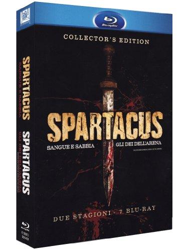 Spartacus - Gli Dei Dell'Arena / Sangue E Sabbia (7 Blu-Ray)