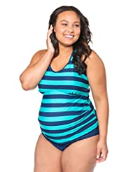 plus size maternity swimwear