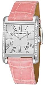 Baume & Mercier Women's 8743 Hampton Square Diamond Watch by Baume & Mercier