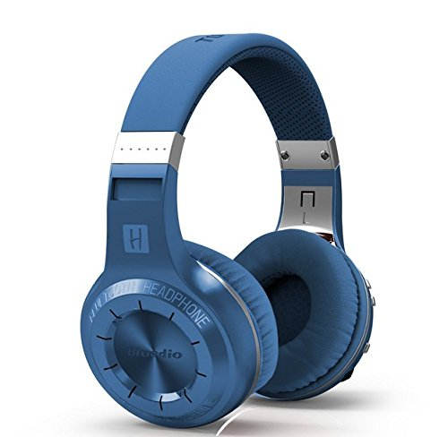 Deals For Bluedio Ht Headband Wireless Bluetooth 4 1 Headset Stereo Music And Handsfree Calls Headphone Built In Mic For Cell Phones Blue Colour Cell Phone Headsets List