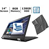 "Newest Lenovo Flex 3 14"" 2-in-1 Touchscreen Laptop, Intel Core I5-6200U With 2.8GHz, 8GB RAM, 128GB Solid State..."