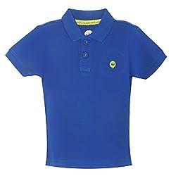 Vitamins Boys' T-Shirt (08Tb-704-2-Ink. Blue_Dark Blue_2 - 3 Years)