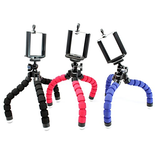 Stargoods-Flexible-Iphone-Tripod-Mount-adapter-Mini-Octopus-Set-of-3