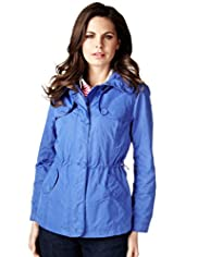Per Una Concealed Hood Jacket with Stormwear&#8482;