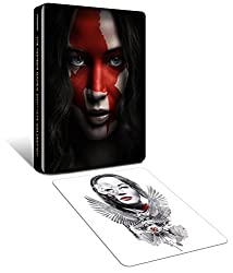The Hunger Games - Complete Collection (Steelbook - Exclusive to Amazon.co.uk) [Blu-ray] [2015]