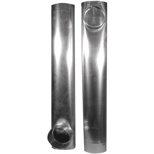 Daf2 Skinny Duct(R) Telescoping Aluminum Vent (27Inin - 48Inin) front-524547